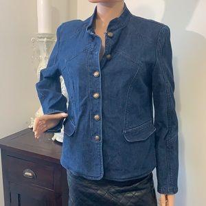 Bianca Nygard cute jean jacket